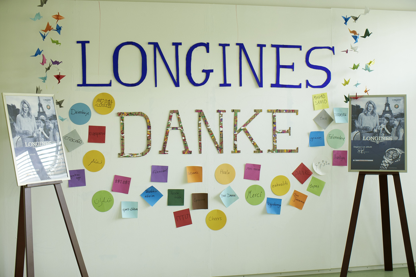 Longines Corporate Event: Children for Tomorrow welcomes Longines to the foundation's headquarters in the presence of Ambassador of Elegance Stefanie Graf 1