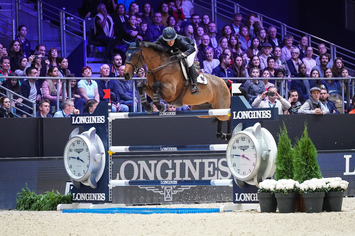 Longines Show Jumping Event: Martin Fuchs and Clooney 51 captured the Longines FEI Jumping World Cup at Longines Equita Lyon, Concours Hippique International 3