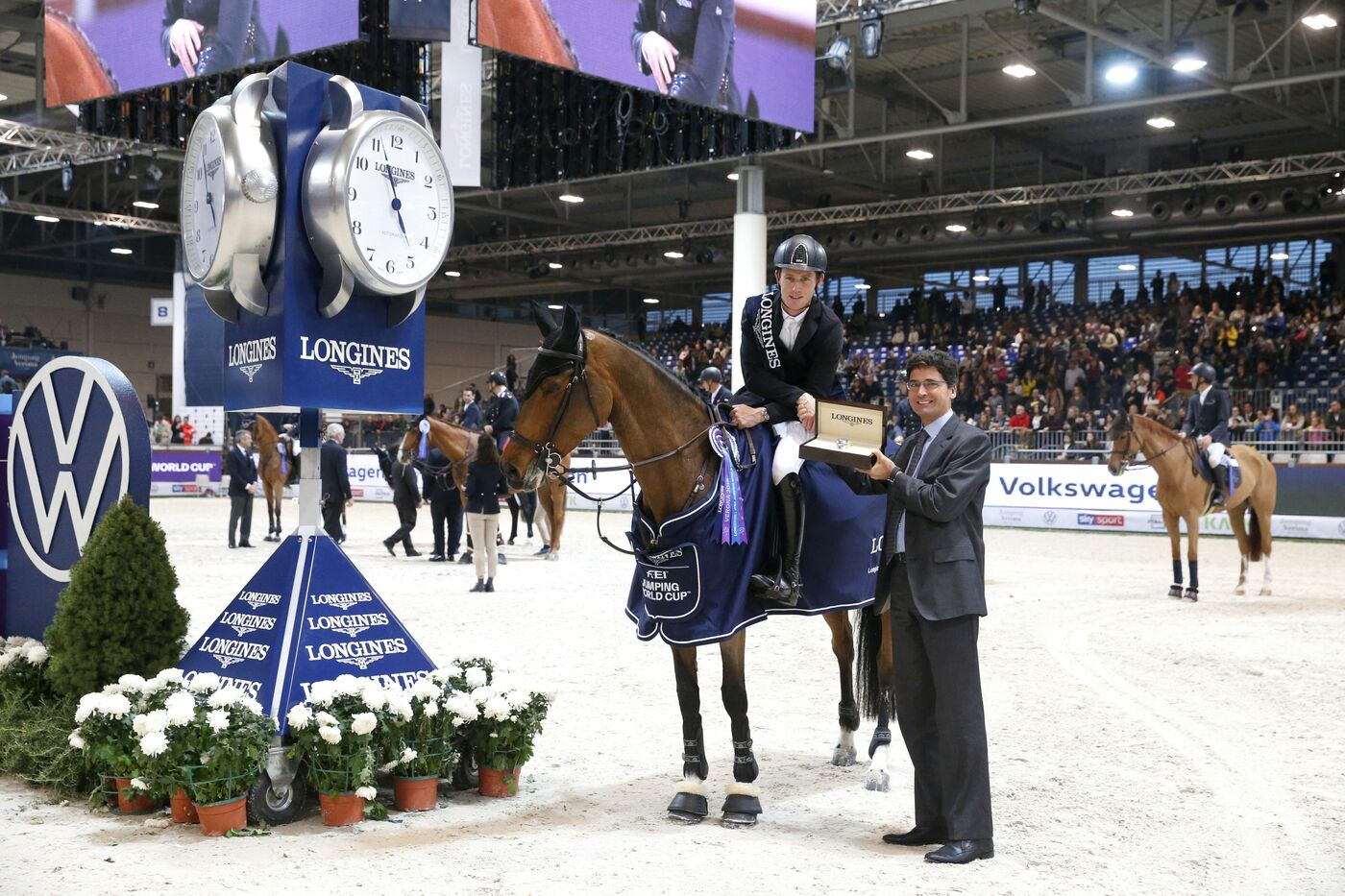 Longines Show Jumping Event: Scott Brash (GB) and Hello M'lady, convincing winners of the Longines FEI Jumping World Cup Verona  5