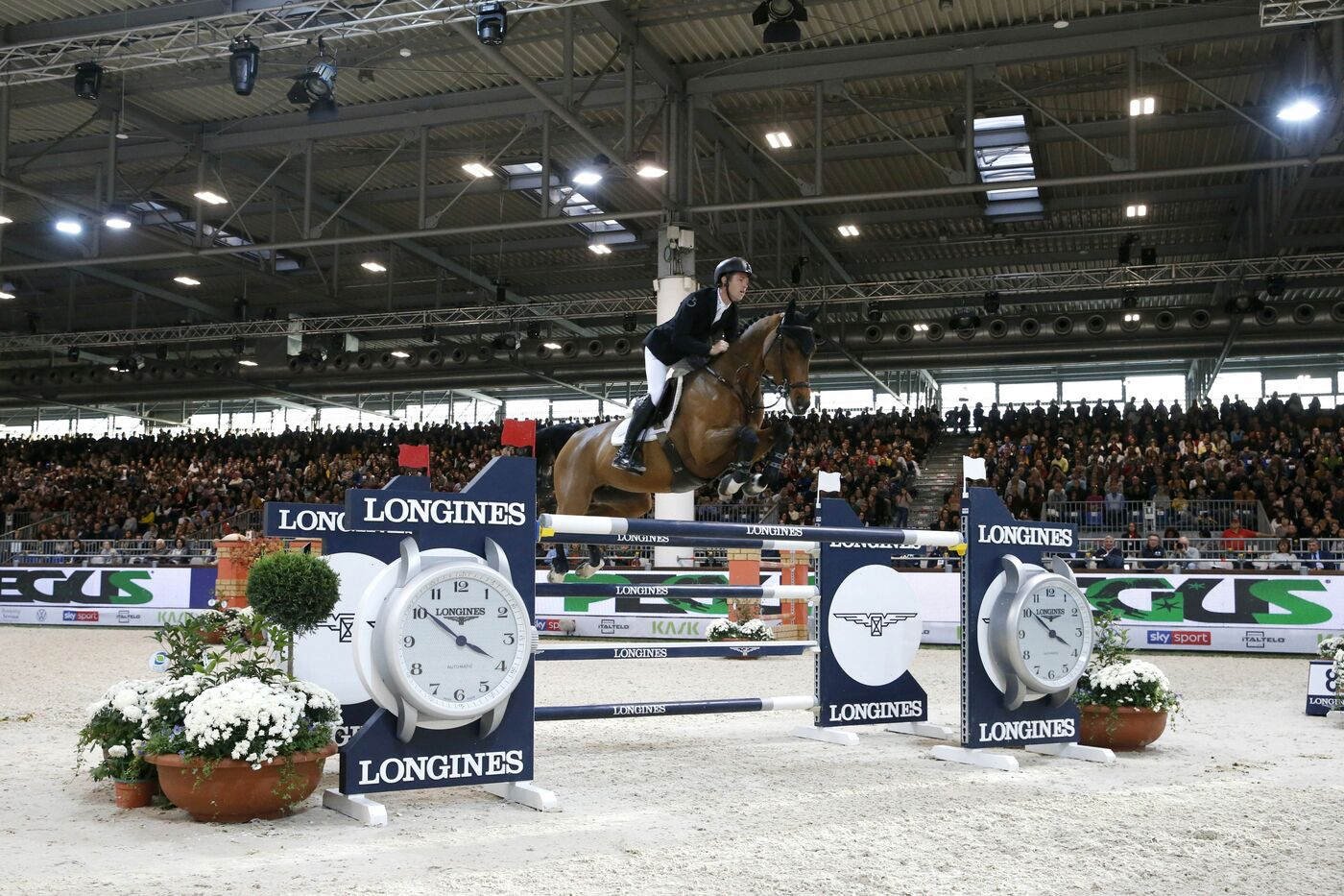 Longines Show Jumping Event: Scott Brash (GB) and Hello M'lady, convincing winners of the Longines FEI Jumping World Cup Verona  4