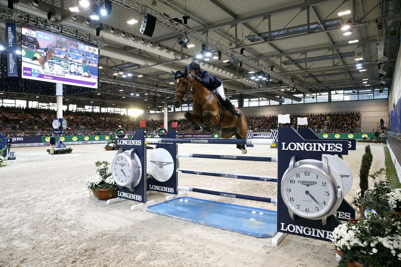 Longines Show Jumping Event: Scott Brash (GB) and Hello M'lady, convincing winners of the Longines FEI Jumping World Cup Verona  3