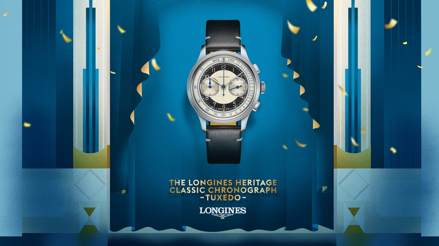 Longines The Longines Heritage Classic - Tuxedo  Watch 16