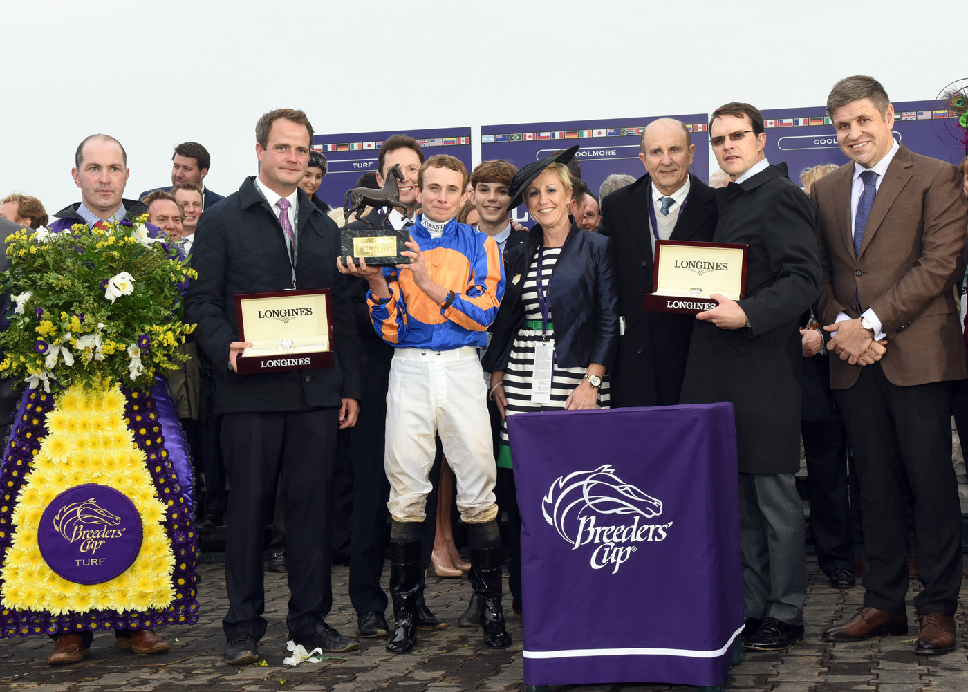 Longines Flat Racing Event: Magnier Family and Aidan O'Brien to Receive  2018 Longines and IFHA International Award of Merit 8