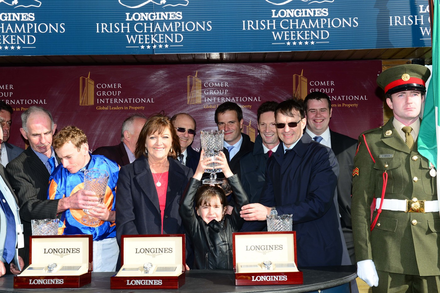Longines Flat Racing Event: Magnier Family and Aidan O'Brien to Receive  2018 Longines and IFHA International Award of Merit 4