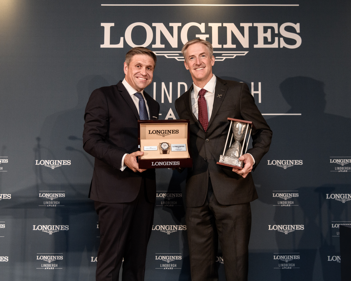 Longines Corporate Event: Erik Lindbergh, Grandson of Famed Aviator Charles Lindbergh, Receives the First Longines Lindbergh Award 4