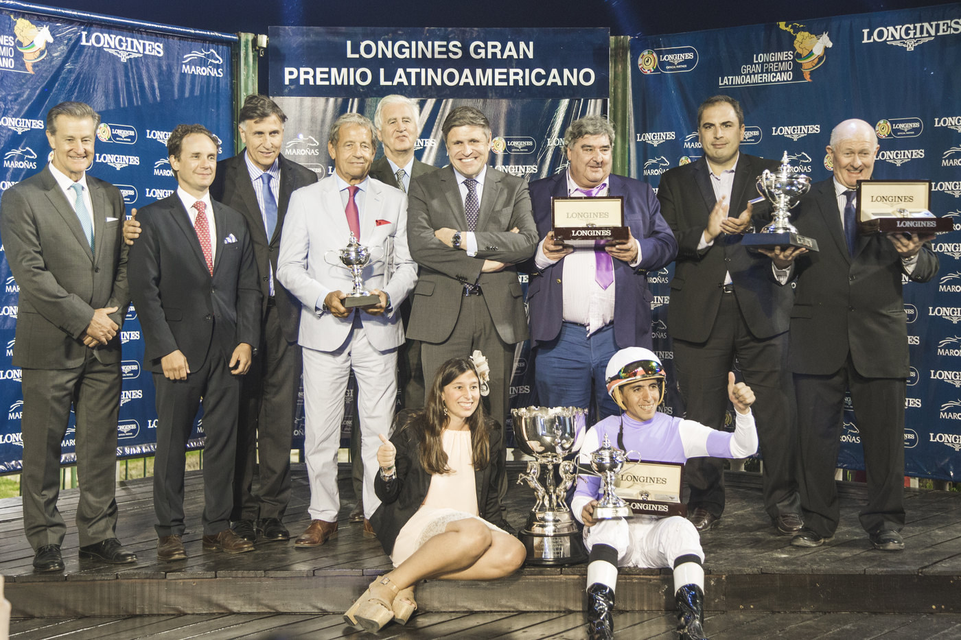 Longines Flat Racing Event: Roman Rosso and Wilson Moreyra claimed victory at the 2018 Longines Gran Premio Latinoamericano  2