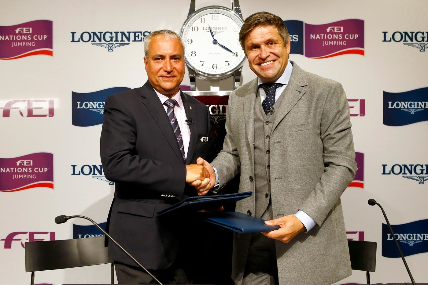 Longines Show Jumping Event: Longines signs long-term title partnership of FEI Nations Cup™ Jumping and extends global agreement as FEI Top Partner 2