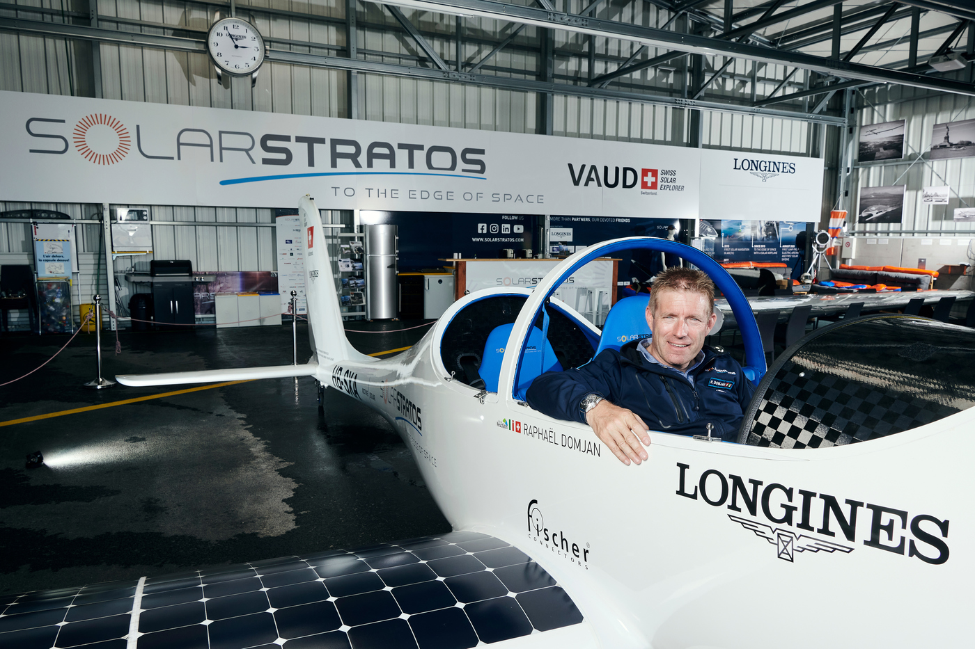 Longines Corporate Event: Longines and SolarStratos take on the solar challenge 2