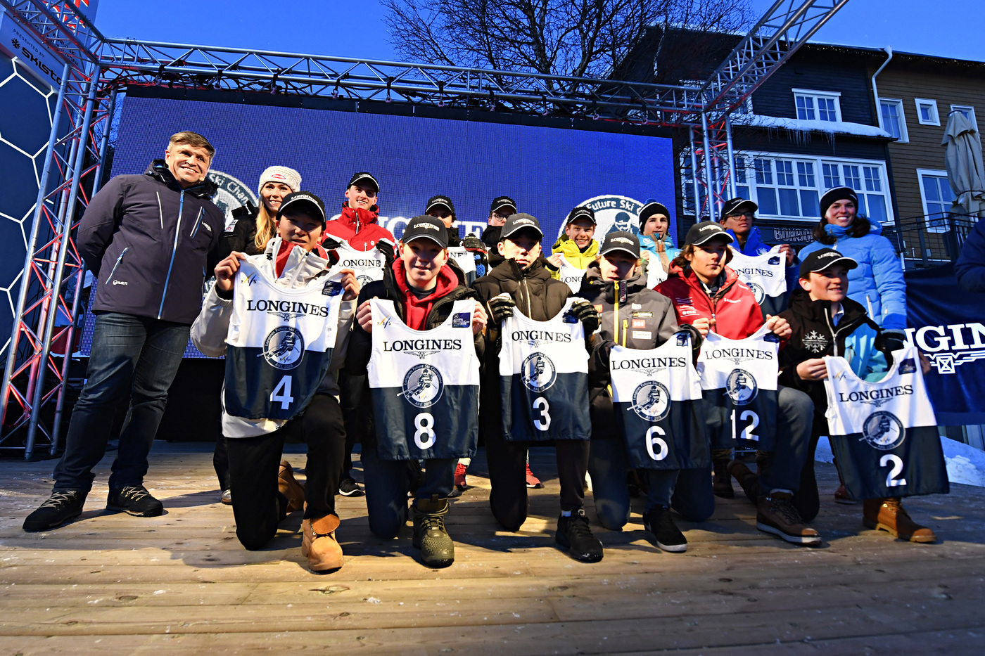 Longines Alpine Skiing Event: Longines Future Ski Champions : The best international young skiers faced off during the FIS Alpine World Cup Finals   4