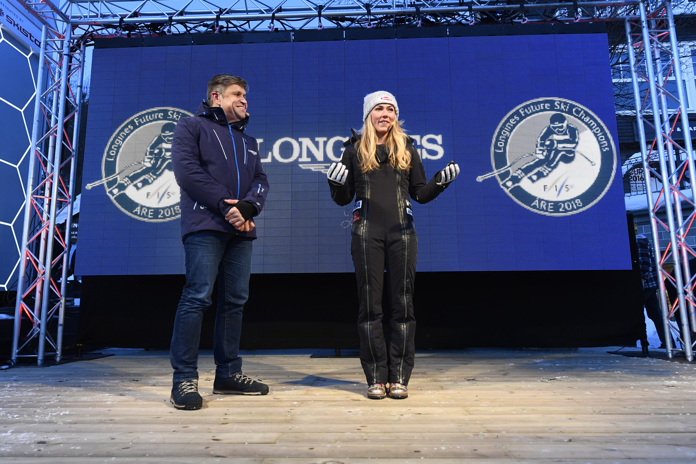 Longines Alpine Skiing Event: Longines Future Ski Champions : The best international young skiers faced off during the FIS Alpine World Cup Finals   2