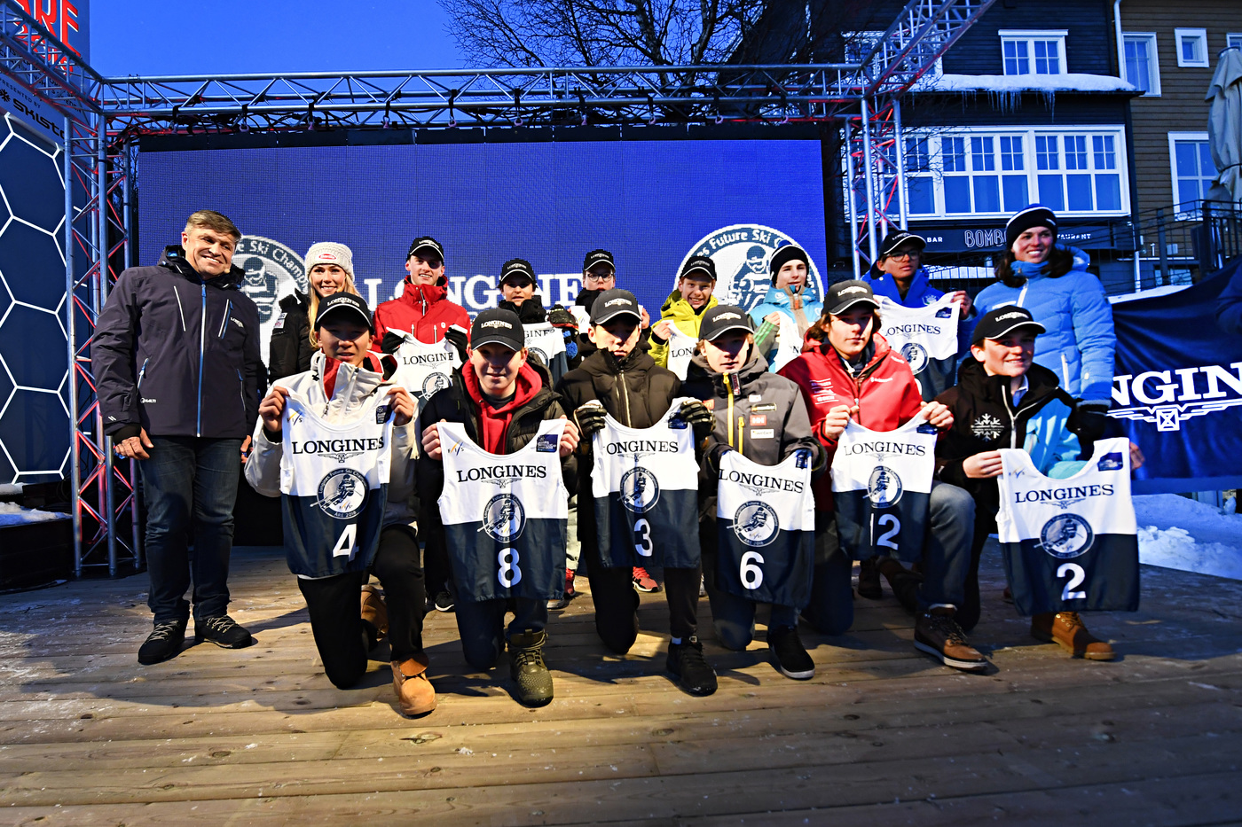 Longines Alpine Skiing Event: Longines Future Ski Champions : The best international young skiers faced off during the FIS Alpine World Cup Finals   5