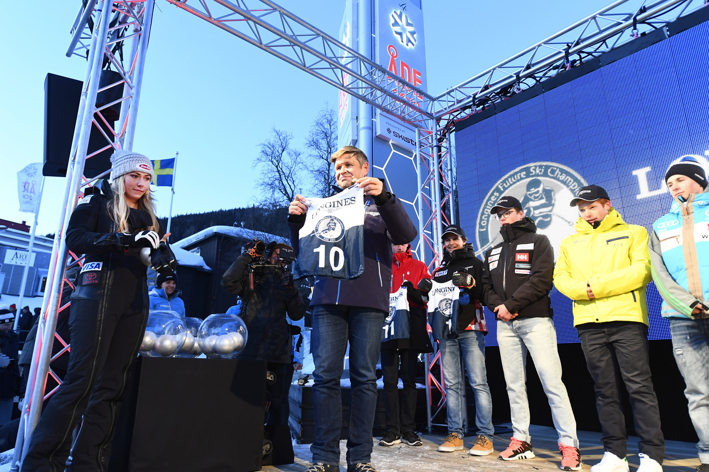 Longines Alpine Skiing Event: Longines Future Ski Champions : The best international young skiers faced off during the FIS Alpine World Cup Finals   6