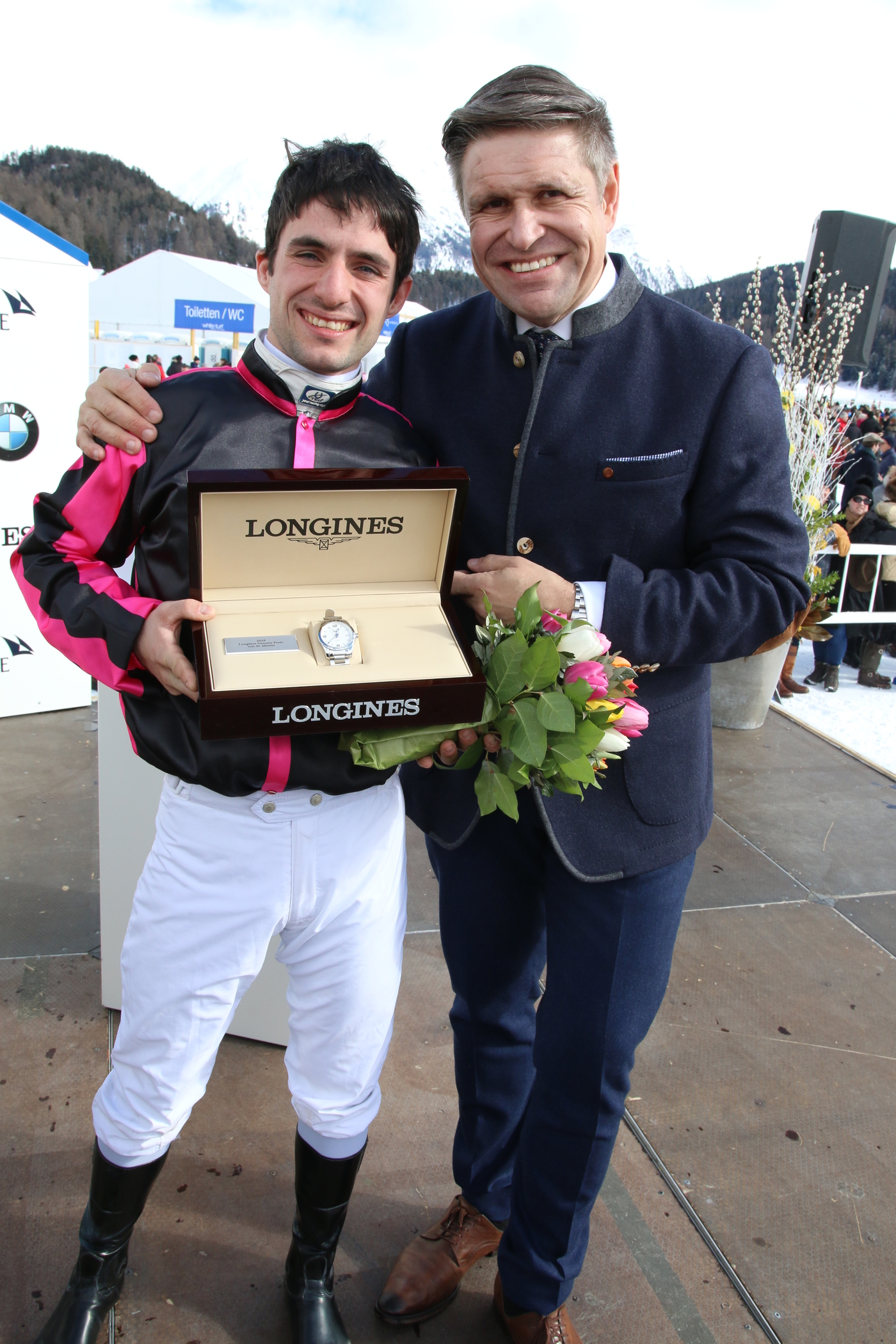 Longines Flat Racing Event: Maxim Pecheur and Nimrod won the Longines 79. Grosser Preis von St. Moritz 4