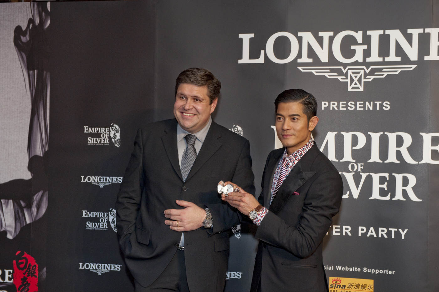 Longines Corporate Event: Longines presents Empire of Silver, starring Ambassador of Elegance, Aaron Kwok 2