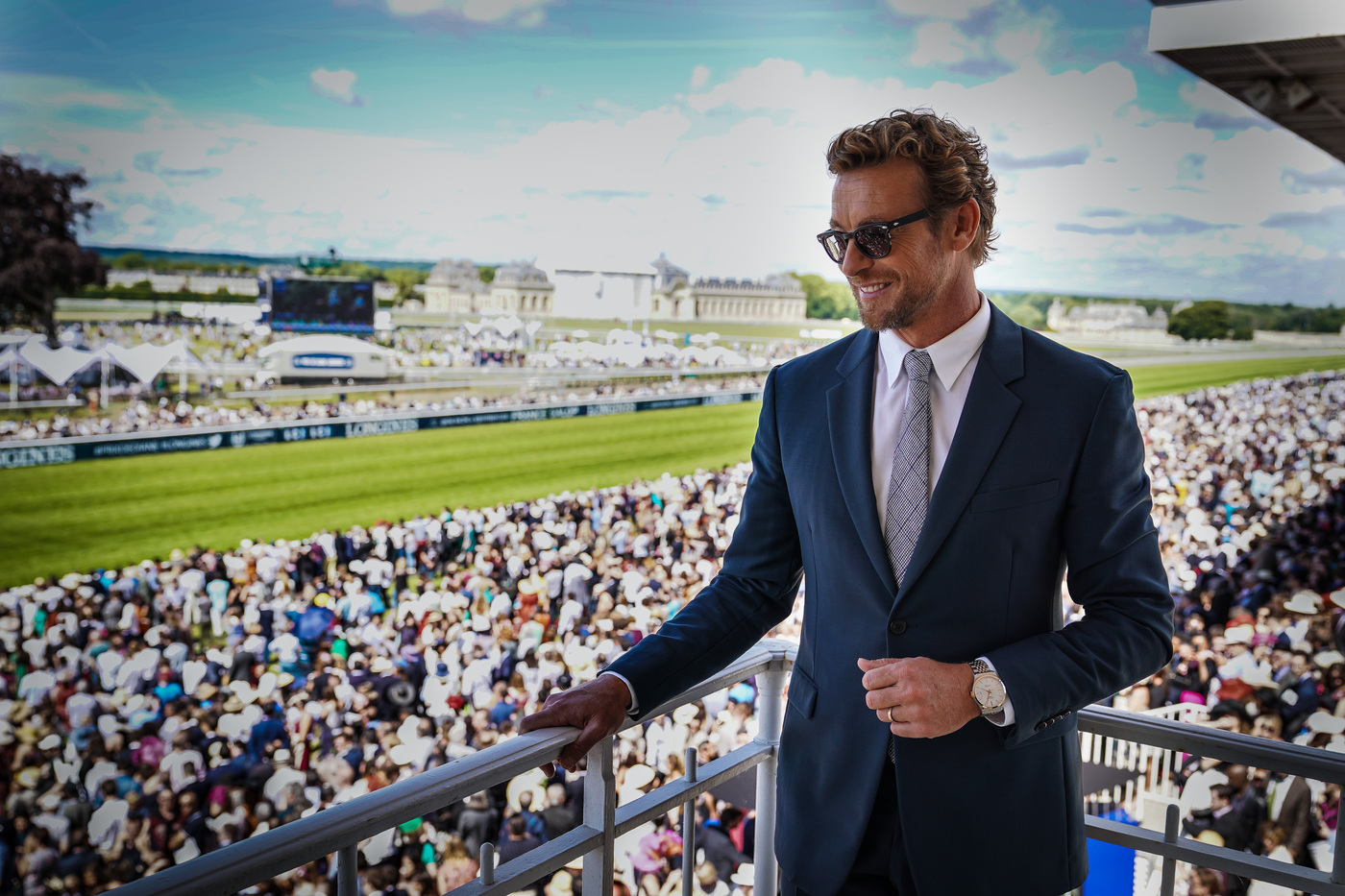 Longines Flat Racing Event: A remarkable 2019 edition of the Prix de Diane Longines in presence of Longines Ambassador of Elegance Simon Baker  13