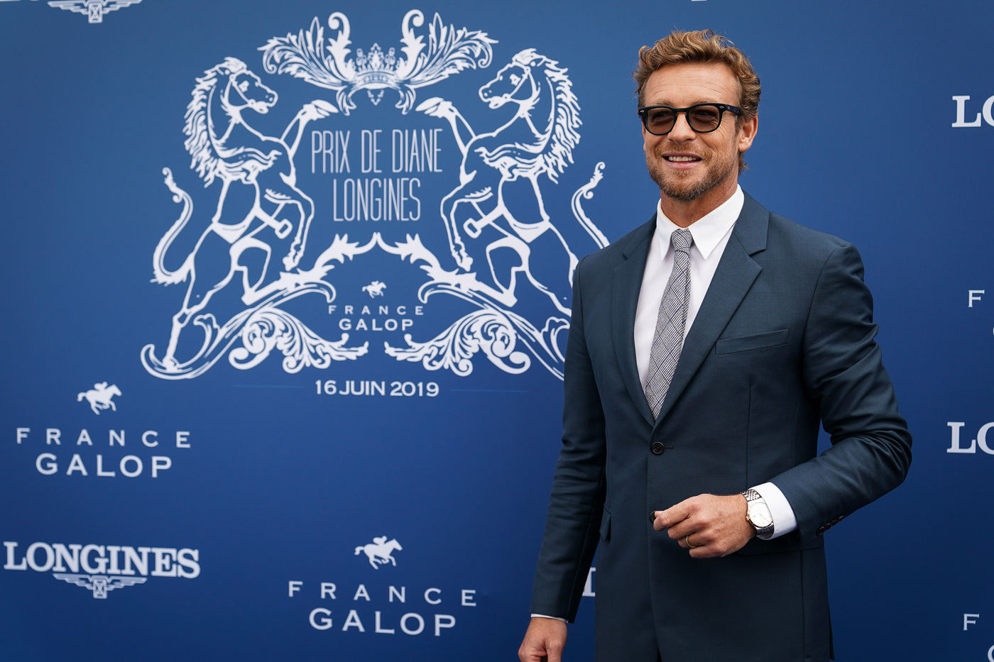 Longines Flat Racing Event: A remarkable 2019 edition of the Prix de Diane Longines in presence of Longines Ambassador of Elegance Simon Baker  3