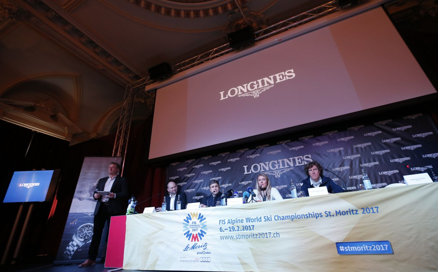 Longines Alpine Skiing Event: Official launch of the Longines Live Alpine Data system at the FIS Alpine World Ski Championships St. Moritz 2017 10