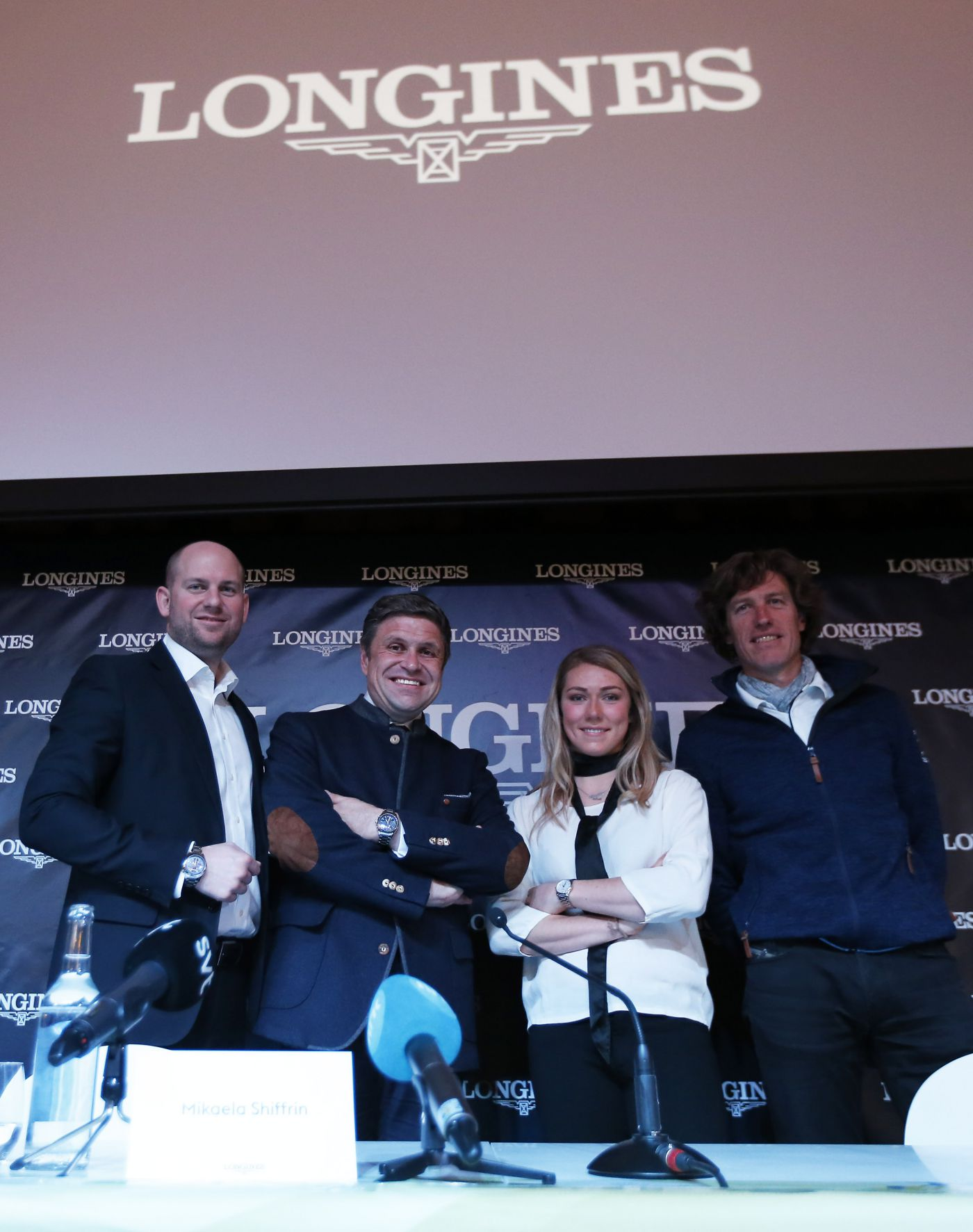 Longines Alpine Skiing Event: Official launch of the Longines Live Alpine Data system at the FIS Alpine World Ski Championships St. Moritz 2017 3