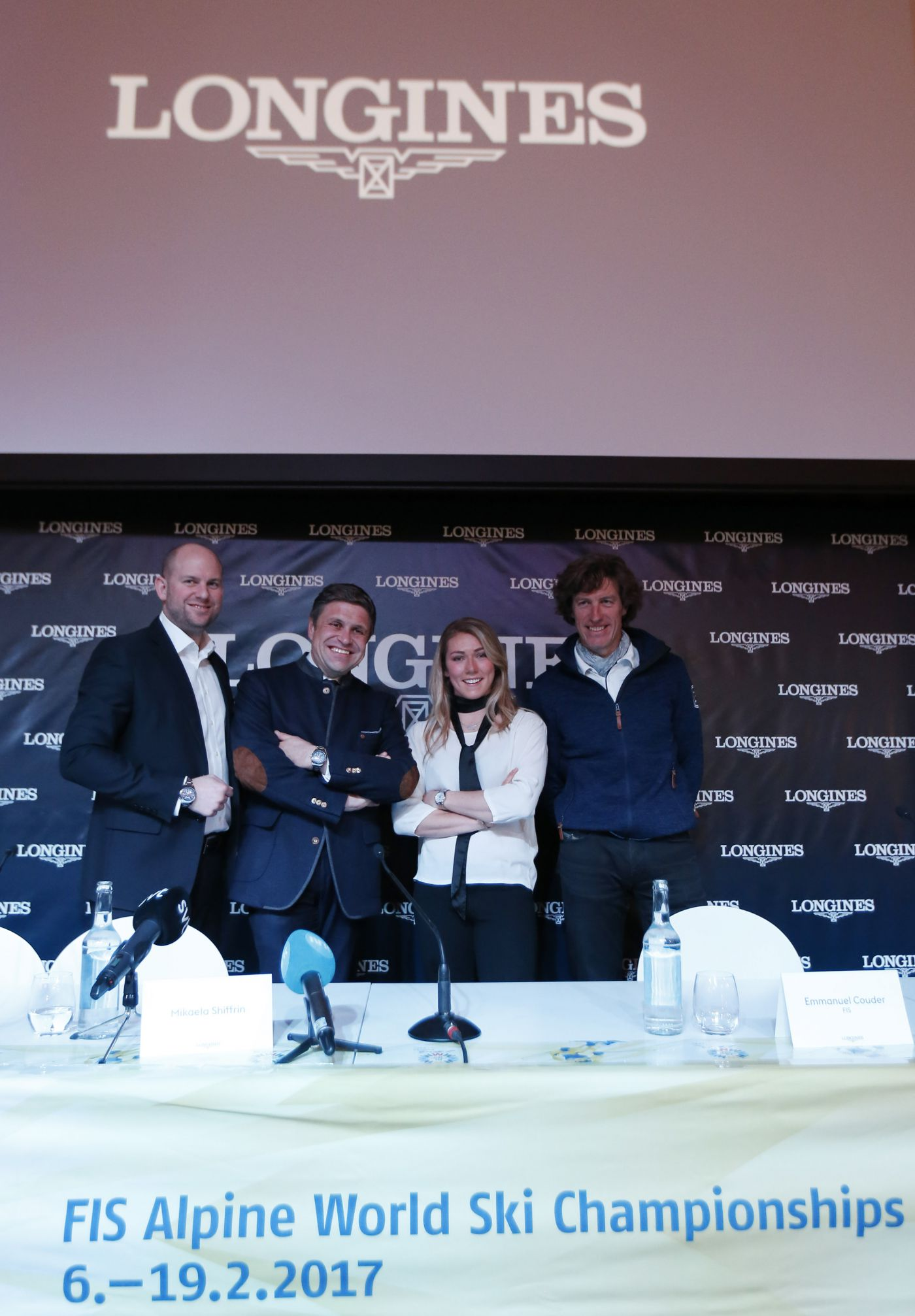 Longines Alpine Skiing Event: Official launch of the Longines Live Alpine Data system at the FIS Alpine World Ski Championships St. Moritz 2017 2
