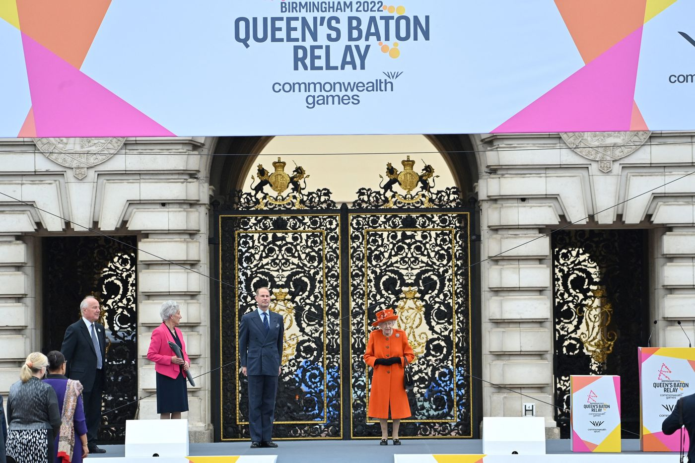 Longines Commonwealth Games Event: Her Majesty the Queen launches the 16th official Queen's Baton Relay for the Birmingham 2022 Commonwealth Games 4