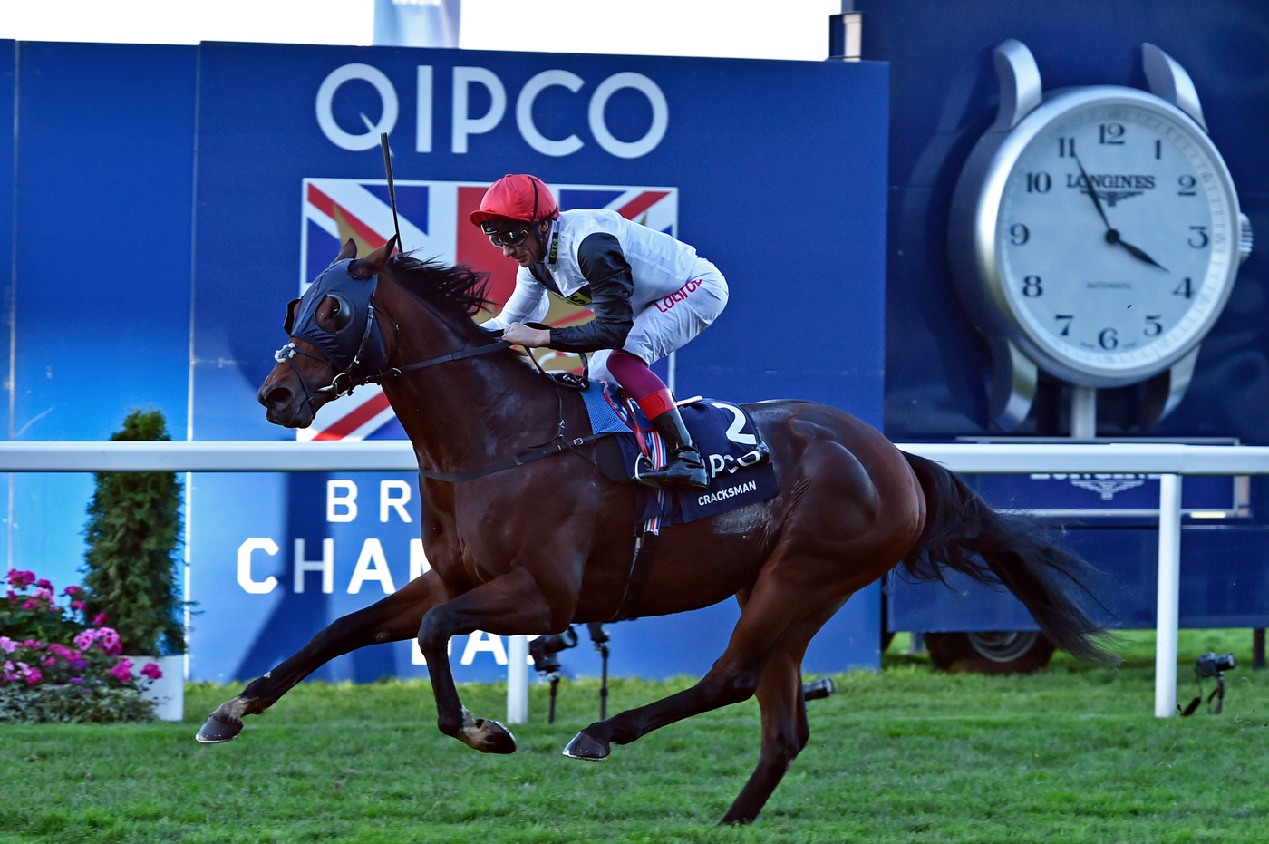 Longines Flat Racing Event: Frankie Dettori Crowned the 2018 Longines World's Best Jockey  2