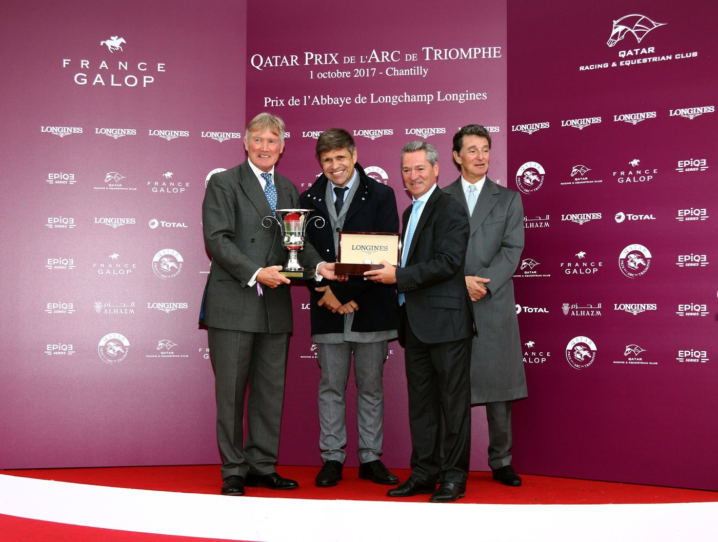 Longines Flat Racing Event: Longines' precision served the prestigious Qatar Prix de l'Arc de Triomphe 6