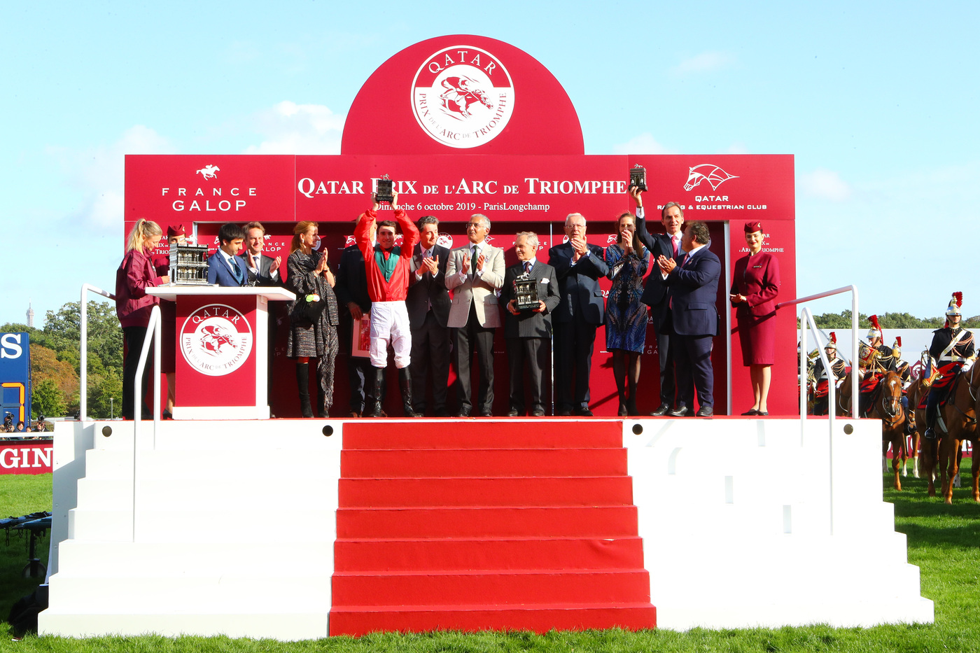 Longines Flat Racing Event: Waldgeist wins the 98th edition of the Qatar Prix de l'Arc de Triomphe 3