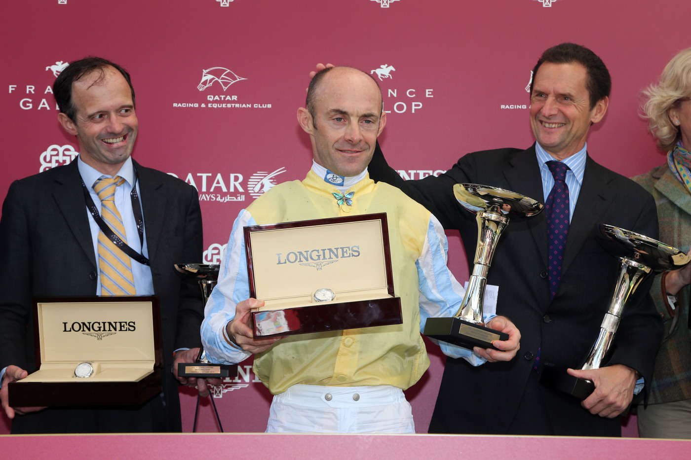Longines Flat Racing Event: Waldgeist wins the 98th edition of the Qatar Prix de l'Arc de Triomphe 6