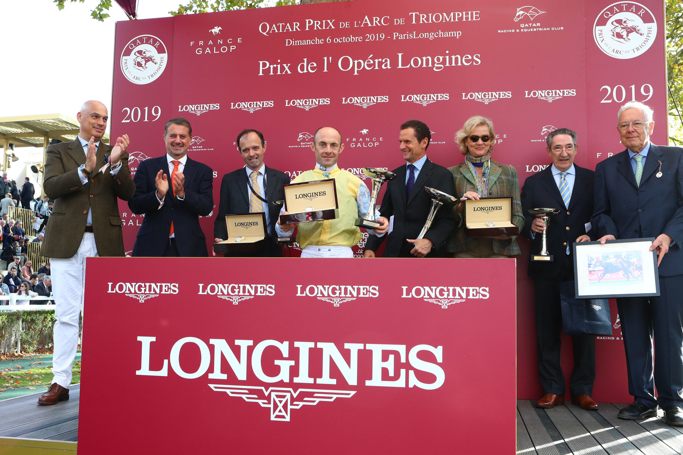 Longines Flat Racing Event: Waldgeist wins the 98th edition of the Qatar Prix de l'Arc de Triomphe 7