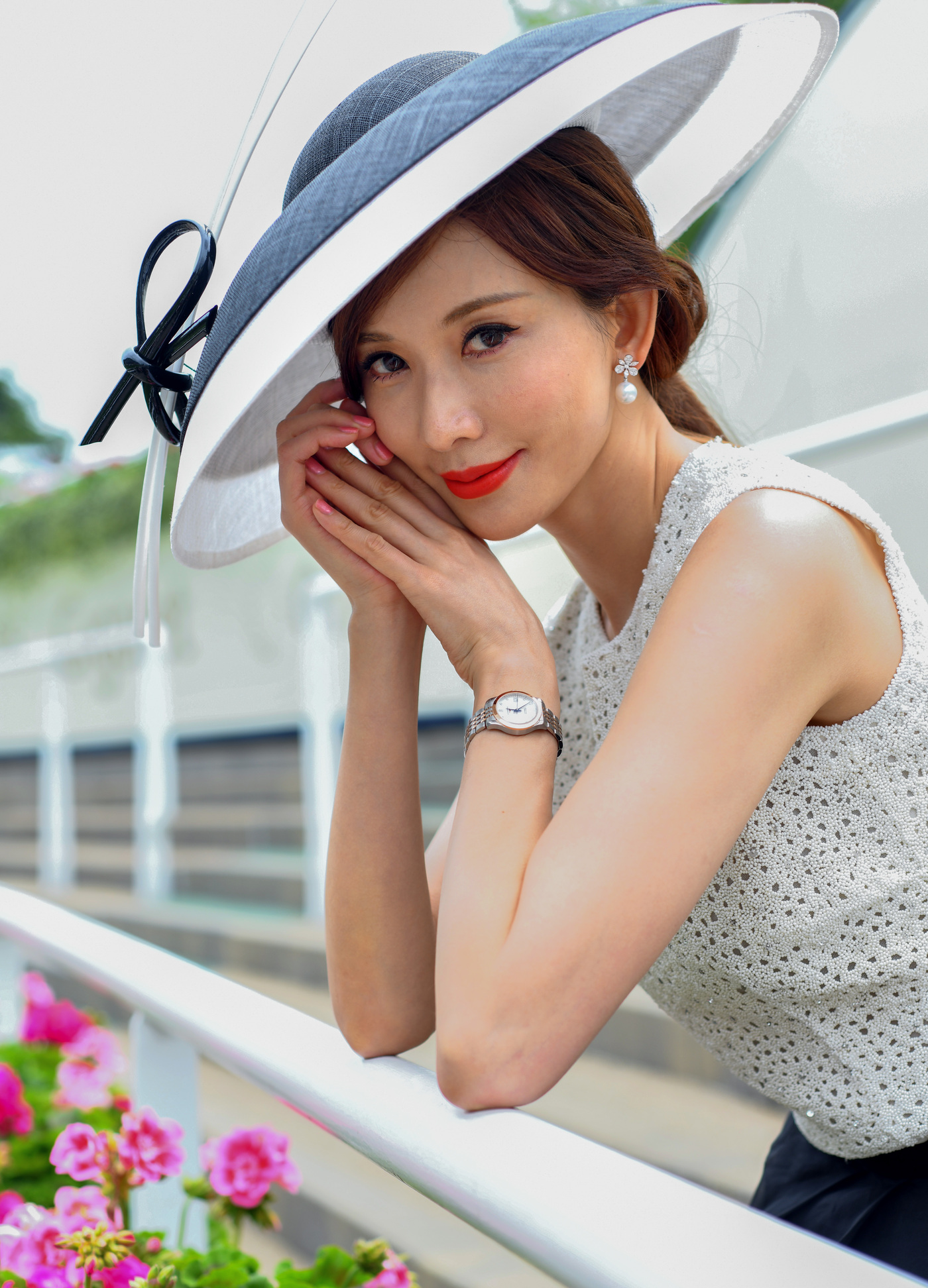 Longines Flat Racing Event: Longines celebrates elegance at Royal Ascot with Chi Ling Lin 3