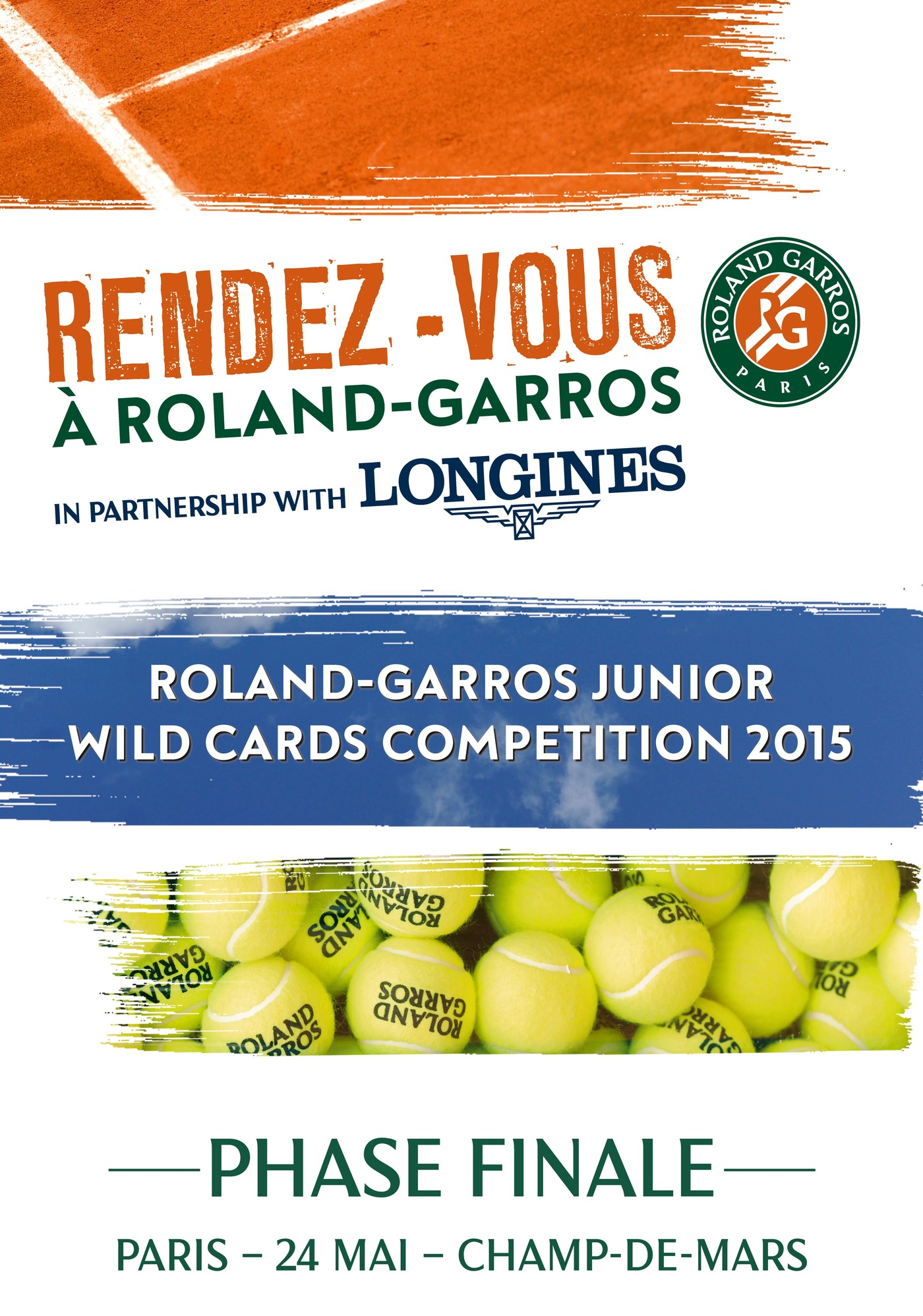 Longines  Event: Longines Future Tennis Aces 2015: a meeting of talented young players in the heart of Paris 1