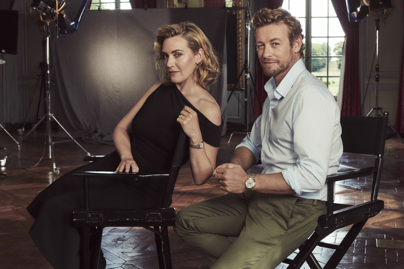 Longines Corporate Event: The Record collection perfectly embodied by Longines Ambassadors of Elegance Kate Winslet & Simon Baker  2