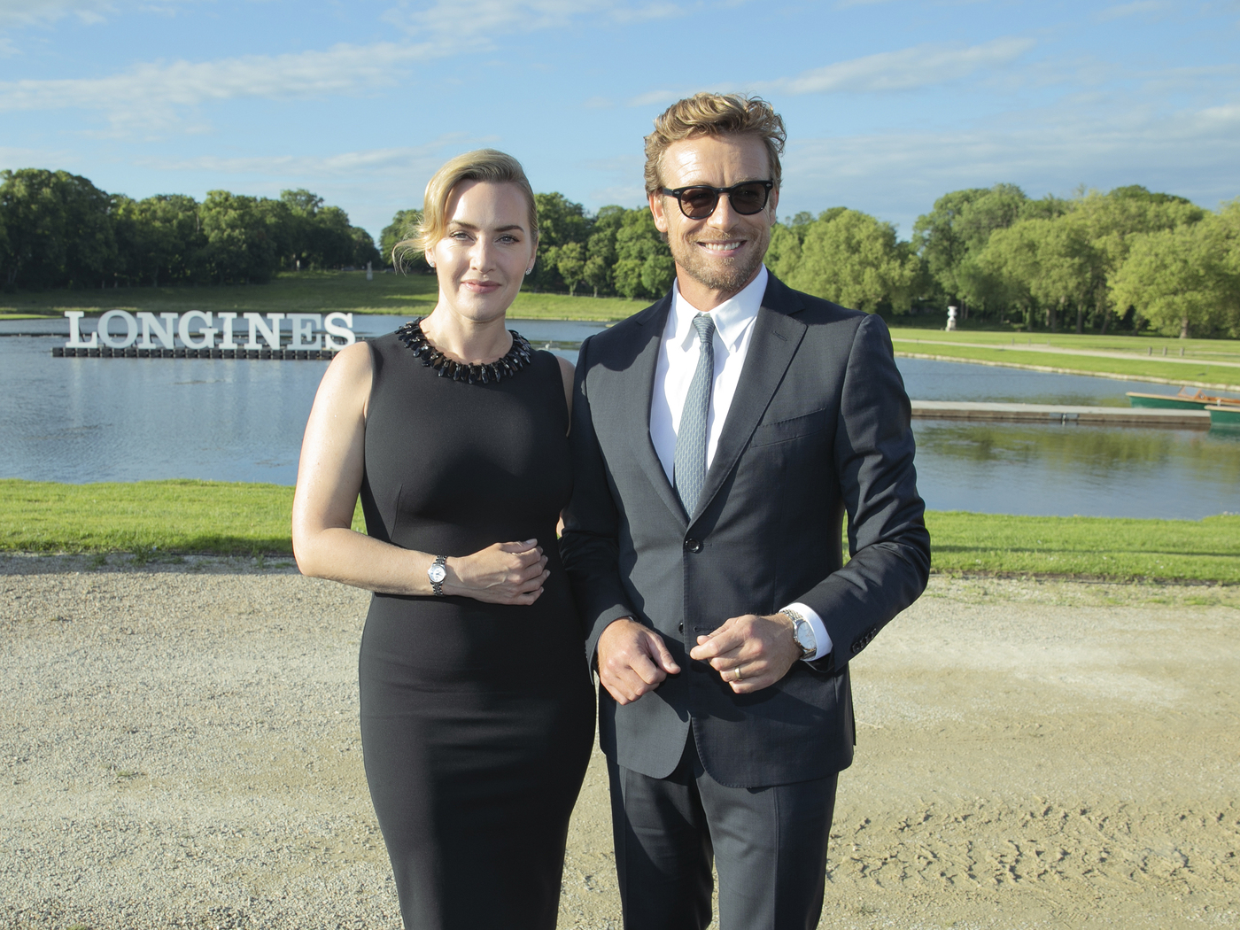 Longines Corporate Event: The Record collection perfectly embodied by Longines Ambassadors of Elegance Kate Winslet & Simon Baker  3