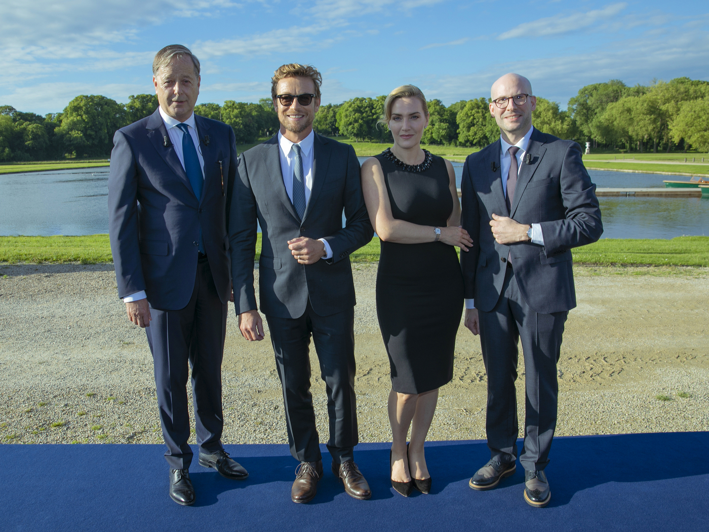 Longines Corporate Event: The Record collection perfectly embodied by Longines Ambassadors of Elegance Kate Winslet & Simon Baker  6