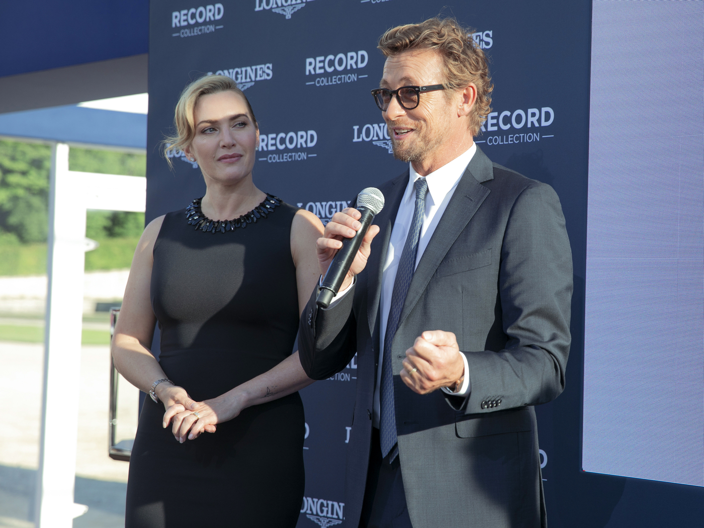 Longines Corporate Event: The Record collection perfectly embodied by Longines Ambassadors of Elegance Kate Winslet & Simon Baker  7