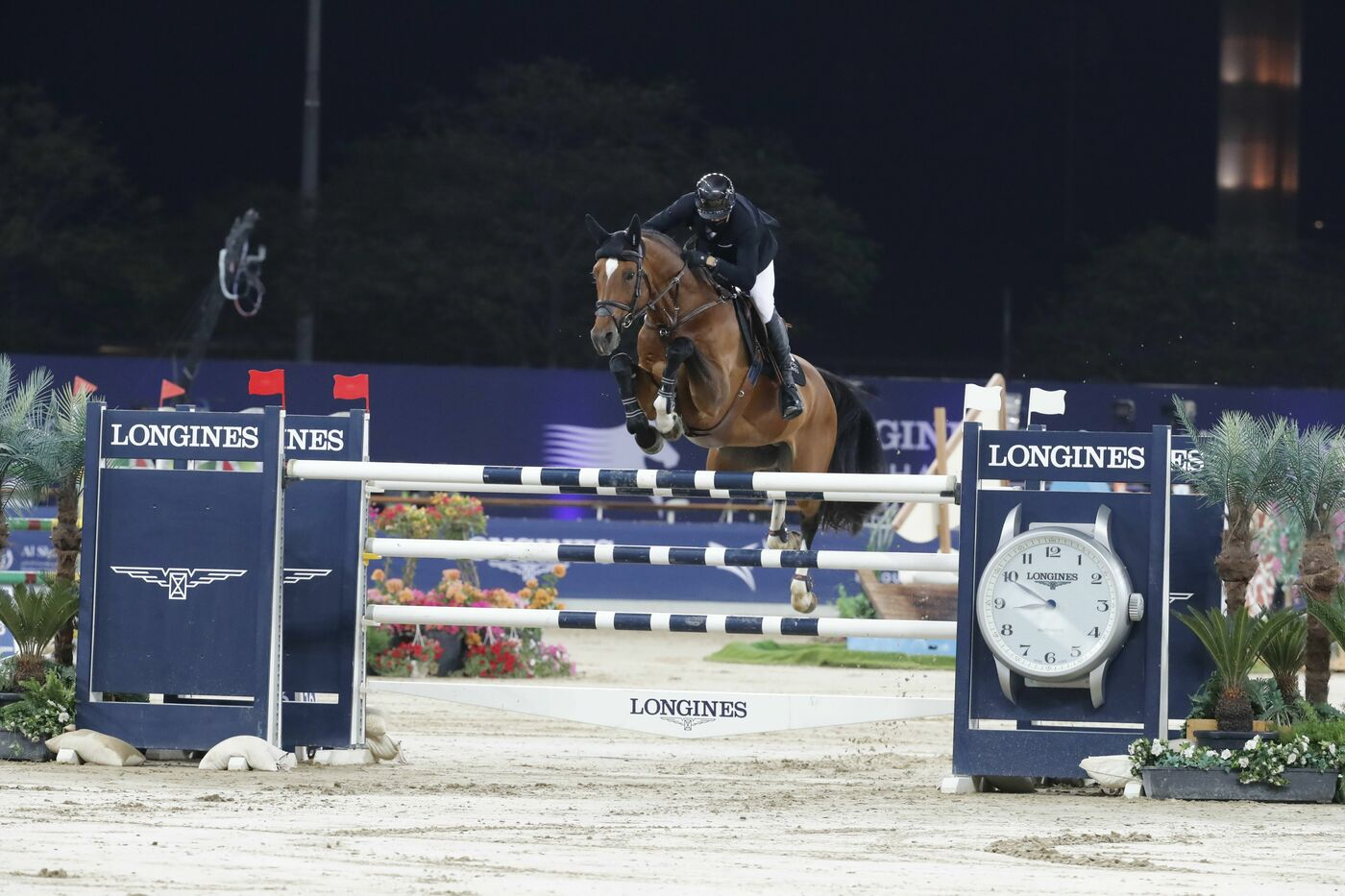 Longines Show Jumping Event: Doha hosted the world's best riders and horses for the launch of the new Longines Global Champions Tour season 1
