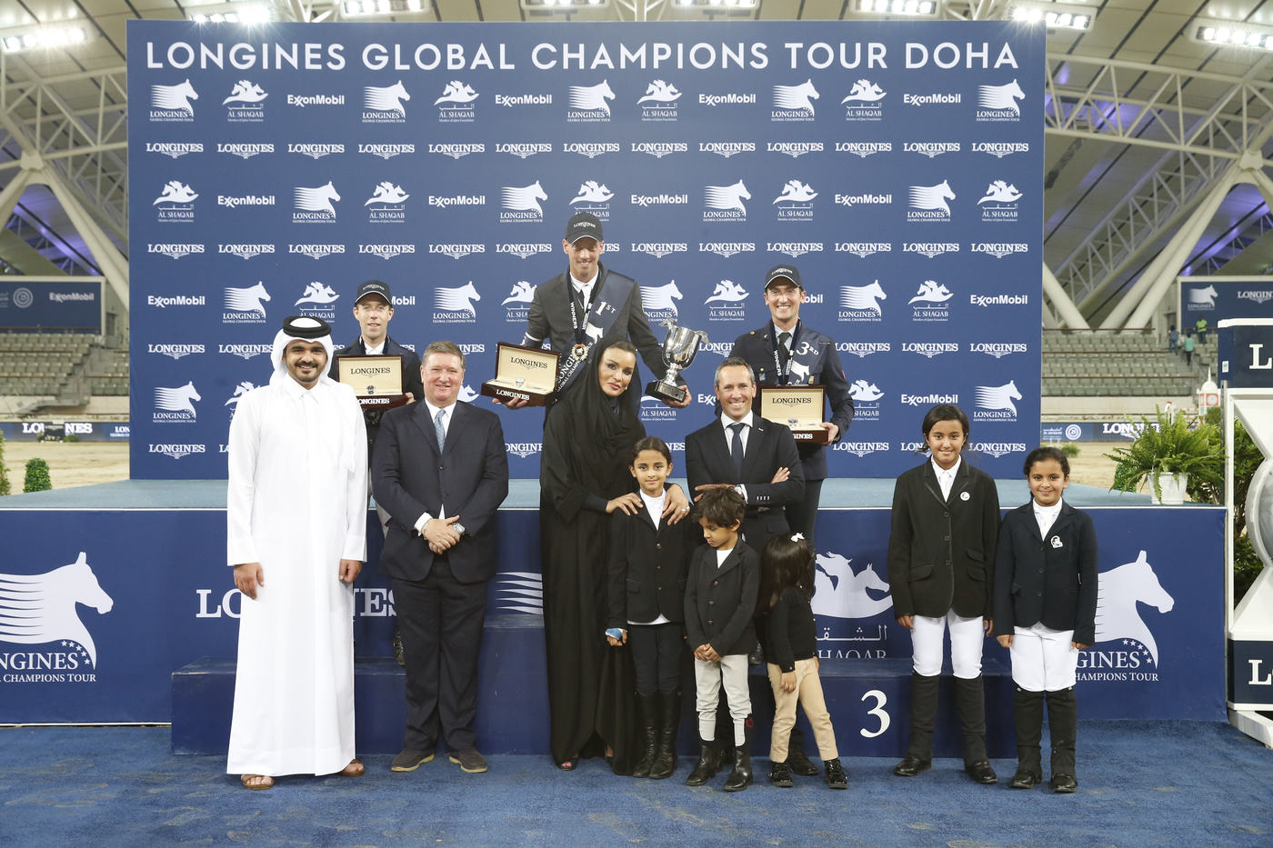 Longines Show Jumping Event: Qatari victory at the 2017 Longines Global Champions Tour in Doha 3