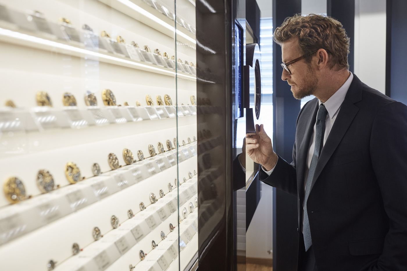 Longines Corporate Event: Simon Baker discovers the Longines universe in Saint-Imier 7