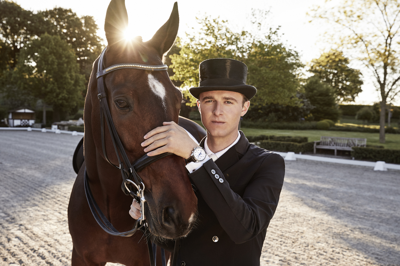 Longines Corporate Event: Dressage's rising star Sönke Rothenberger has become a Longines Ambassador of Elegance 1
