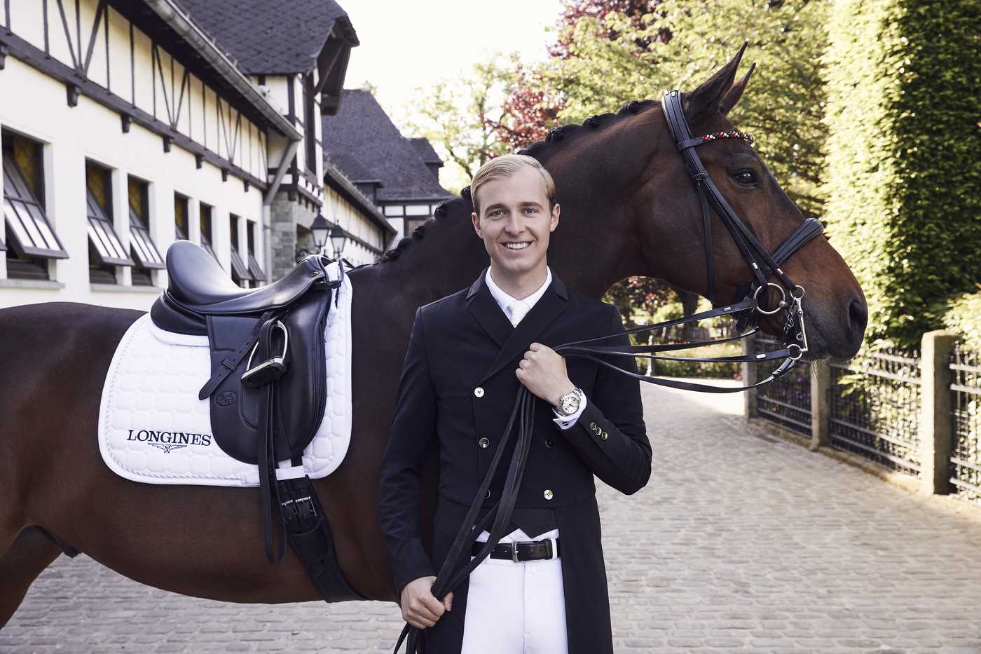 Longines Corporate Event: Dressage's rising star Sönke Rothenberger has become a Longines Ambassador of Elegance 2