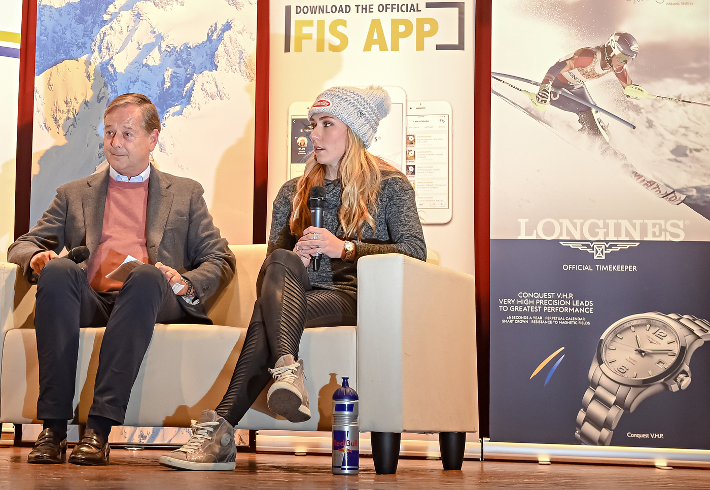 Longines Alpine Skiing Event: Longines' precision to serve the FIS World Cup with the new Conquest V.H.P. model 3