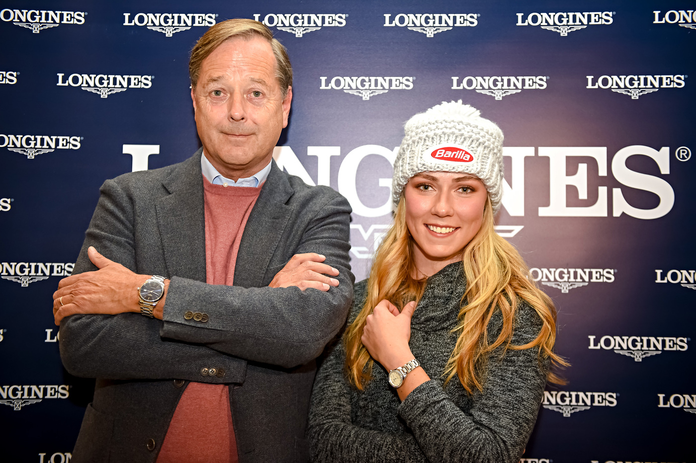 Longines Alpine Skiing Event: Longines' precision to serve the FIS World Cup with the new Conquest V.H.P. model 2
