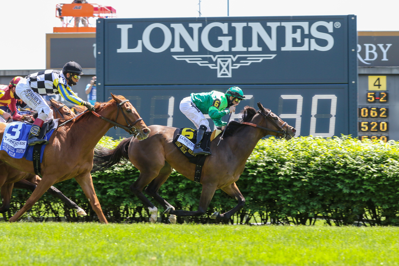 Longines Flat Racing Event: Longines timed the victory of Medina Spirit in the 147th Kentucky Derby 5