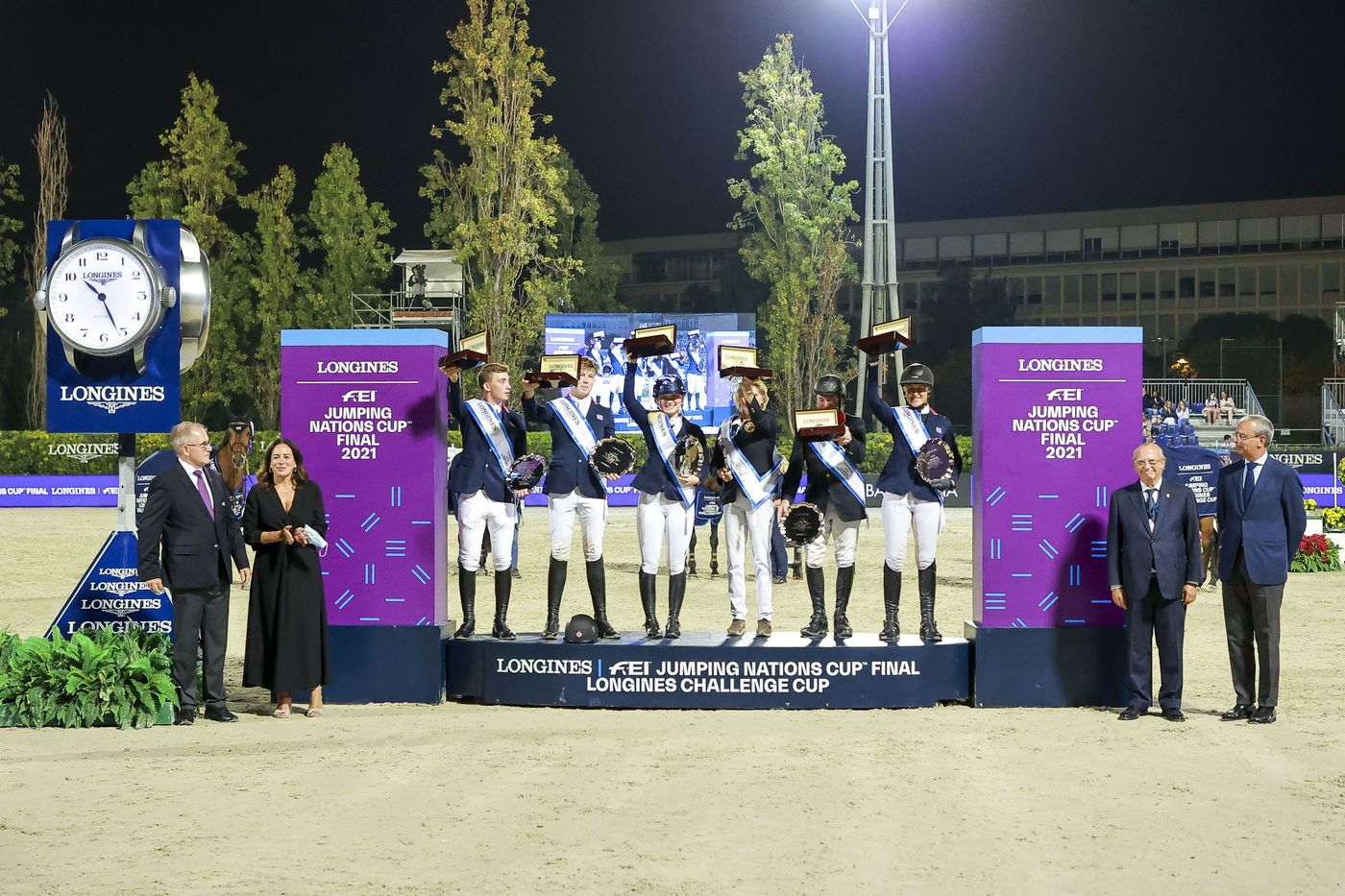 Longines Show Jumping Event: The world's elite riders return to the magnificent city of Barcelona to contend for the Longines FEI Jumping Nations Cup Final  2