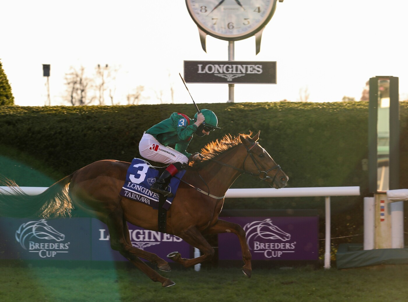 Longines Flat Racing Event: Authentic raced into victory at the 2020 Longines Breeders Cup Classic 6