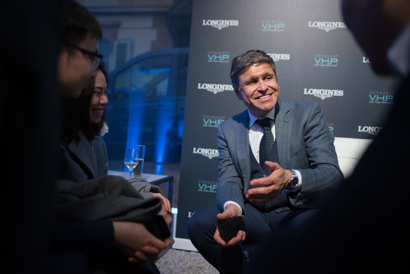 Longines Corporate Event: Global launch of Conquest V.H.P.: a new milestone for quartz technology 6
