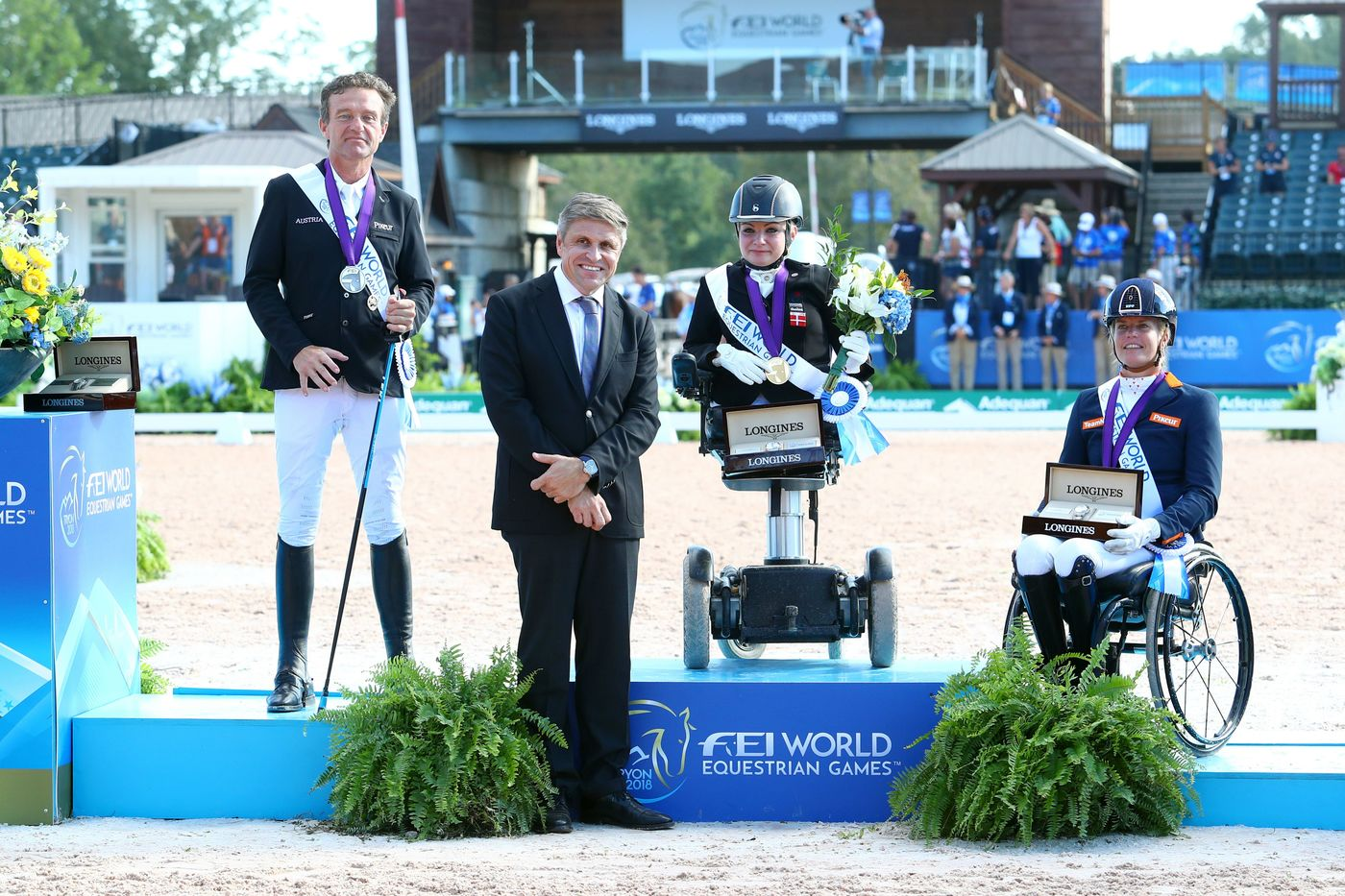 Longines Show Jumping Event: The FEI World Equestrian Games ended beautifully with Germany topping the medal table   15