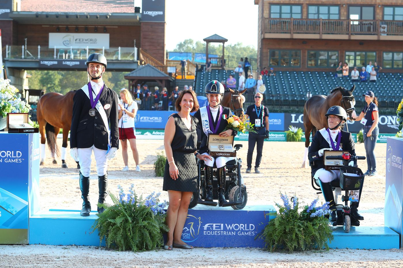 Longines Show Jumping Event: The FEI World Equestrian Games ended beautifully with Germany topping the medal table   9