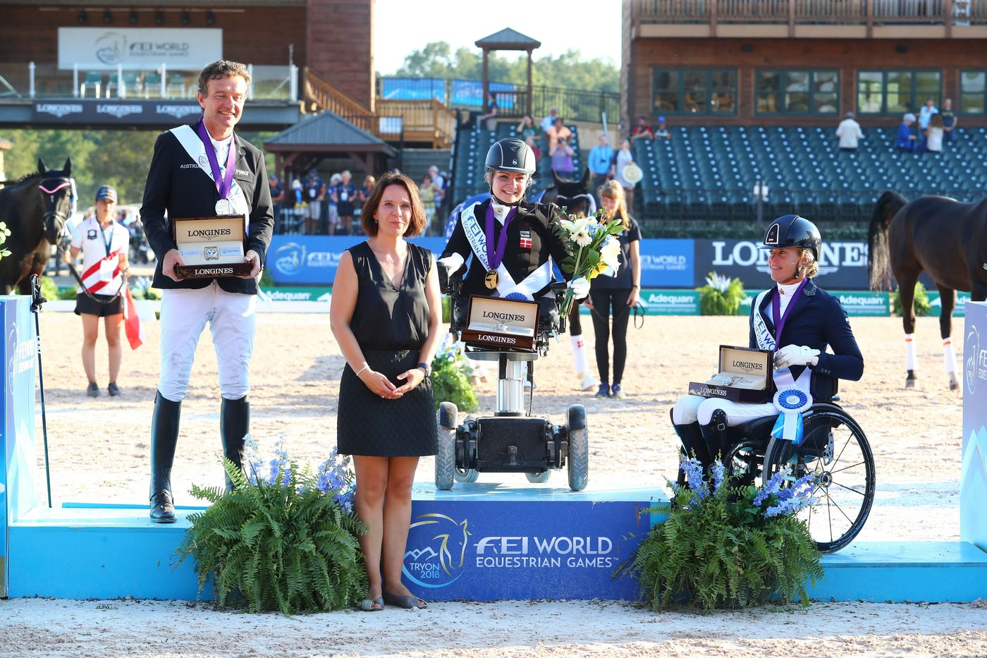 Longines Show Jumping Event: The FEI World Equestrian Games ended beautifully with Germany topping the medal table   8