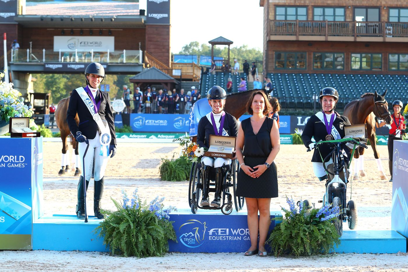 Longines Show Jumping Event: The FEI World Equestrian Games ended beautifully with Germany topping the medal table   7